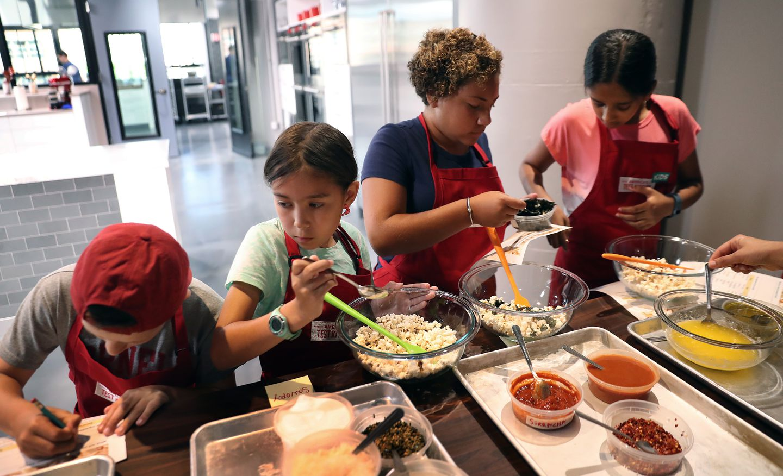 America S Test Kitchen Welcomes Kids Into The Kitchen The Boston Globe