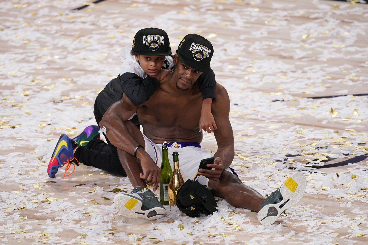 Rajon Rondo explained why winning an NBA title with the Lakers means so  much to him - The Boston Globe