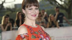 Actress Helen McCrory arrived at the British Academy Television Awards in London on May 8, 2016.
