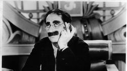 """Groucho Marx in """"Duck Soup."""""""