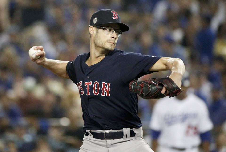 The Red Sox could still use a reliever to replace Joe Kelly, who signed with the Dodgers in December.
