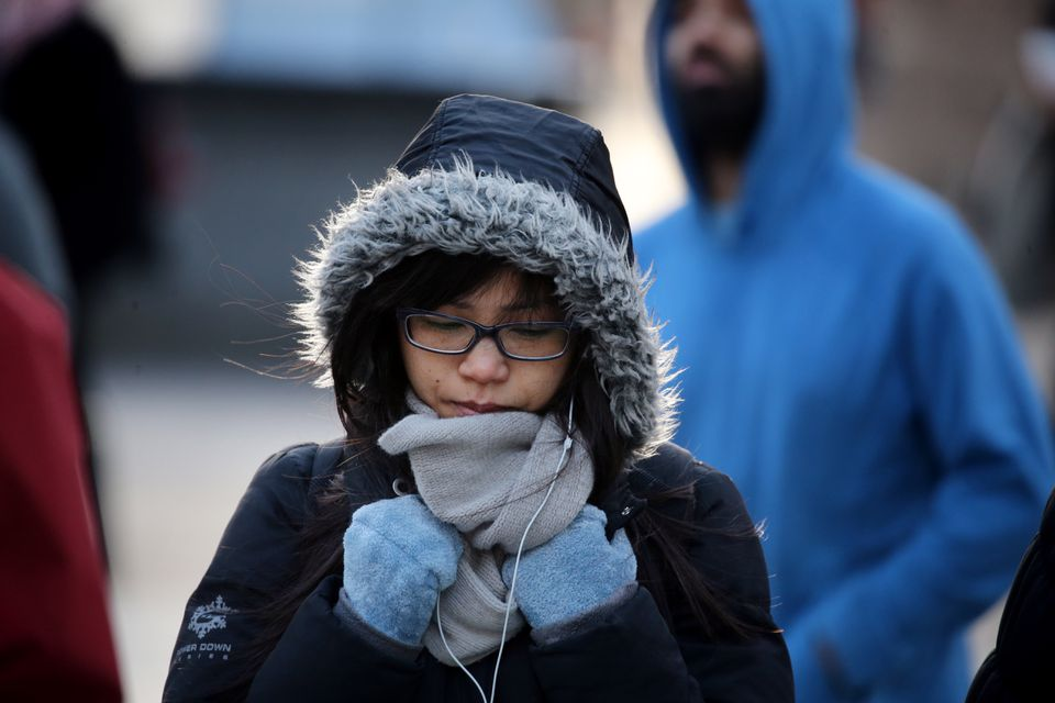 There's little doubt that the daylight hours of this year's Thanksgiving will be the coldest ever recorded in Boston.