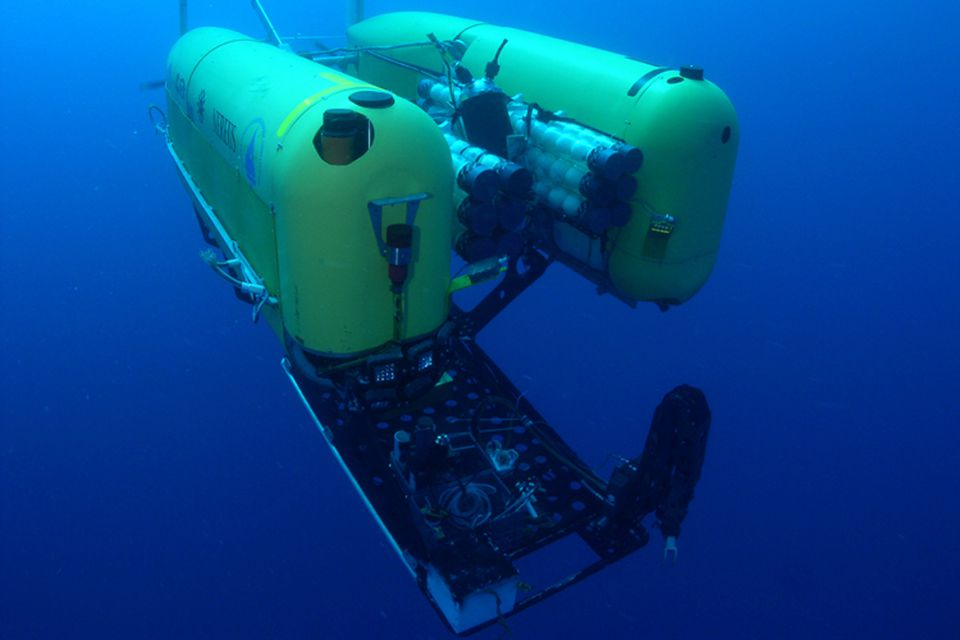 Below the water's surface, pressures 1,000 times greater than the ones at sea level probably led to the implosion of one of Nereus's pressure housings.