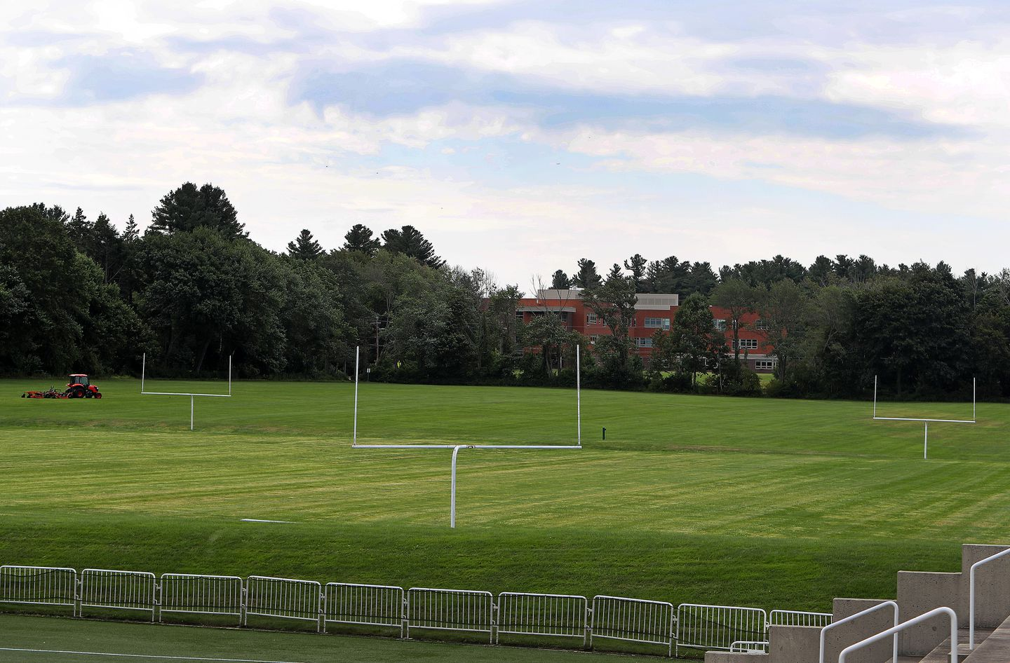 "The area next to the football field at Phillips Academy is known to students as ""Siberia."""
