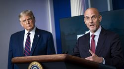 Former Food and Drug Administration commissioner Stephen Hahn during a coronavirus briefing at the White House in August 2020.