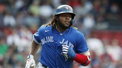 Vladimir Guerrero Jr. homered in three straight games at Fenway Park from Friday-Sunday, the majors' top home-run hitter going 7-for-11 overall.