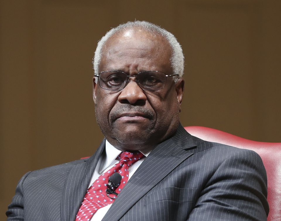 Justice Clarence Thomas on Wednesday asked his first questions at Supreme Court arguments in more than three years. Arguments were almost over in a case about racial discrimination in the South when the court's only African-American member and lone Southerner piped up.