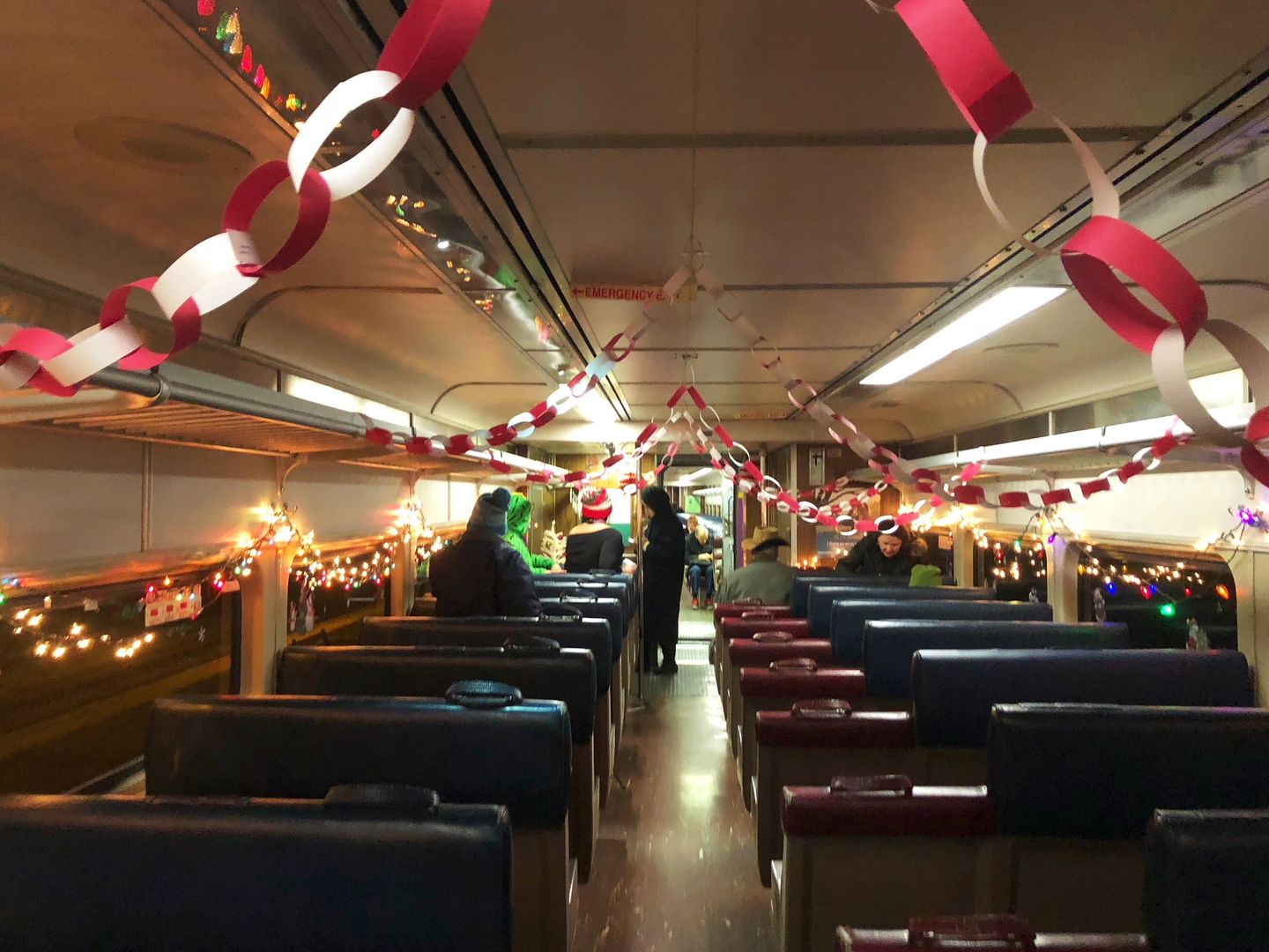 Definitely A Nice Change Commuter Rail Conductor Decorates