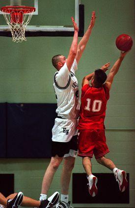 Neil Fingleton played basketball for Holy Name Central Catholic Junior-Senior High School in Worcester.