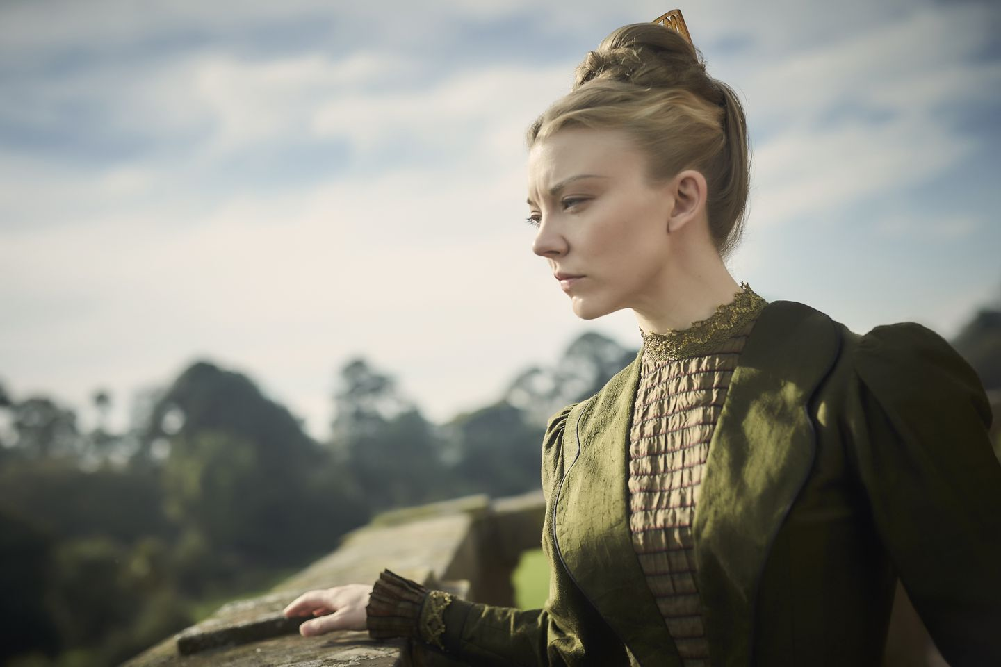 "Natalie Dormer in Amazon's ""Picnic at Hanging Rock."""