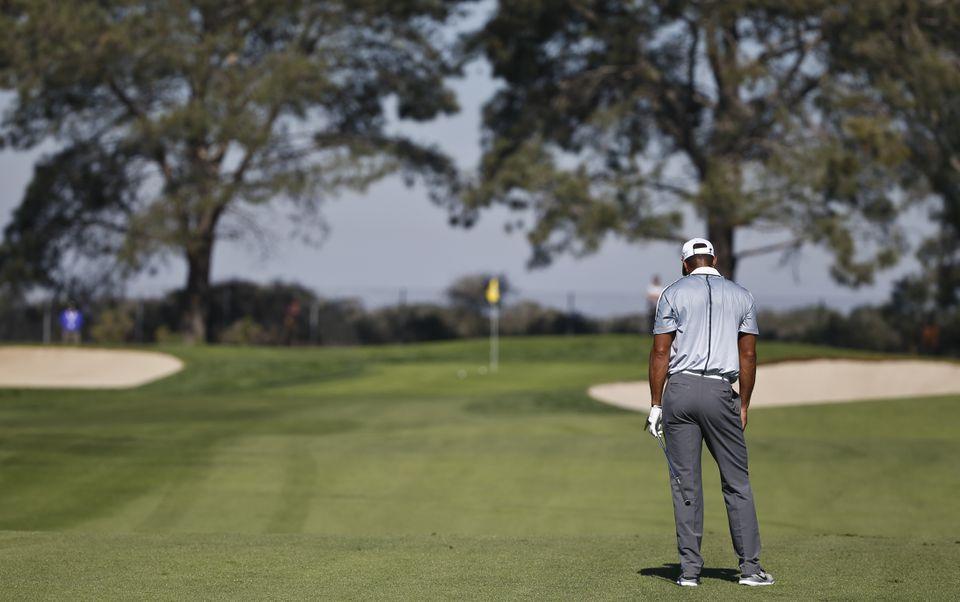 It was more of the same for Tiger Woods at Torrey Pines, withdrawing after a shoddy start.