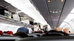 Travelers boarded a Jet Blue flight from Orlando International Airport in Orlando, Fla., to Washington Reagan Airport, on March 1, 2021. The number of disruptive incidents reported by the FAA averages out to one per 1,277 flights.