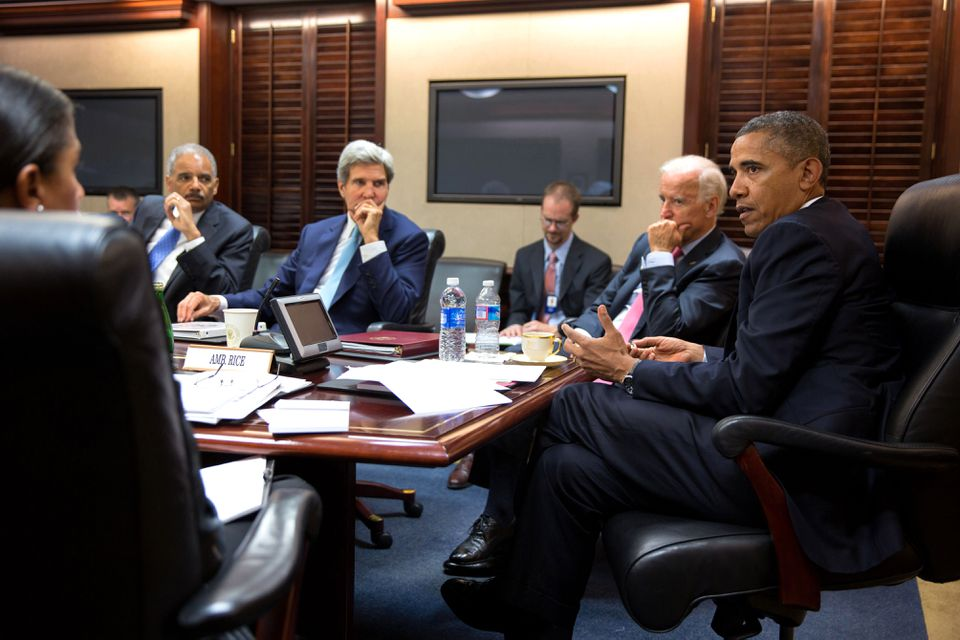 On Aug. 30, 2013, President Obama met with his national security staff to discuss the Syrian civil war in the Situation Room of the White House.