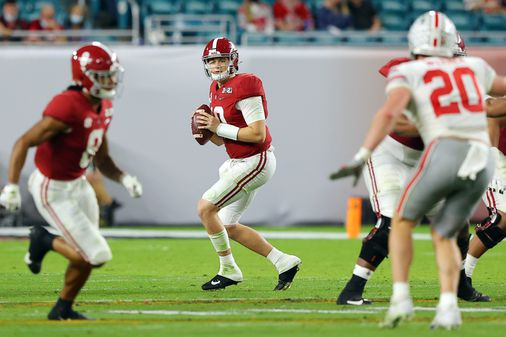 Was Mac Jones that great at Alabama, or just a product of the talent around him? - The Boston Globe