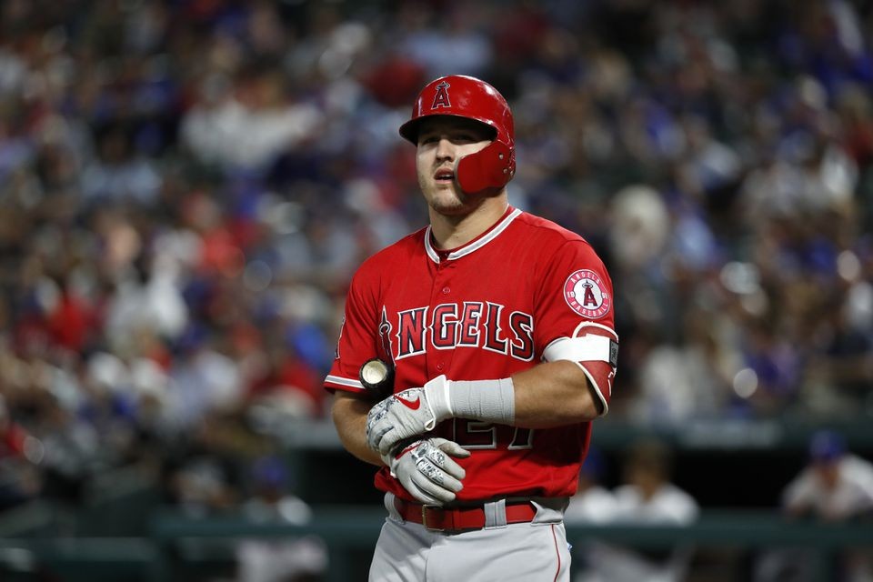 Angels star Mike Trout is scheduled to become a free agent after the 2020 season.