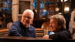 """Steve Martin and Martin Short in """"Only Murders In The Building."""""""