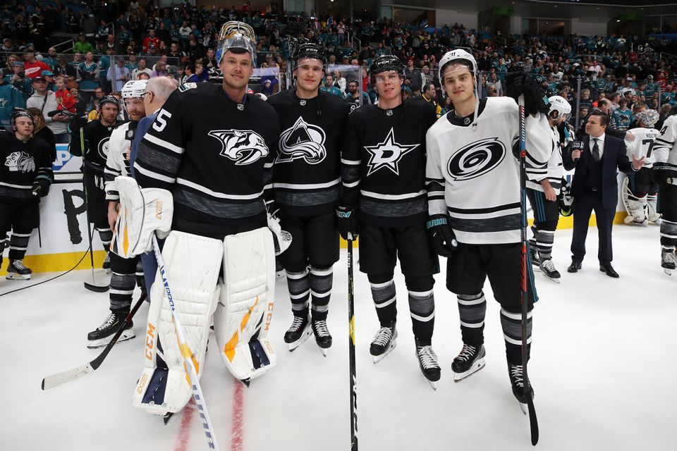 The Puck and Player Tracking system debuted at the NHL All-Star Game could be a precursor to displaying in-game data for both viewers at home and at the arena.
