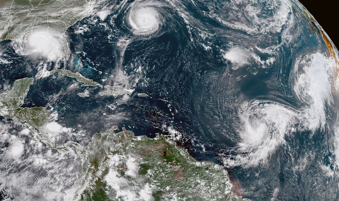 Hurricane Teddy strengthens to a Category 2 storm - The Boston Globe