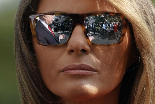 The unbearable awkwardness of being Melania