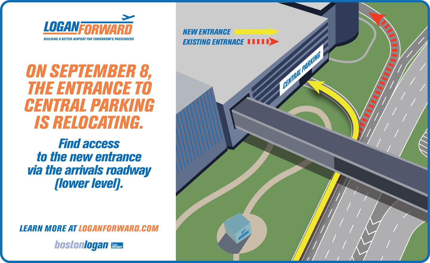 Parking Near Logan Airport >> Logan Parking Garage To Open New Entrance To Improve