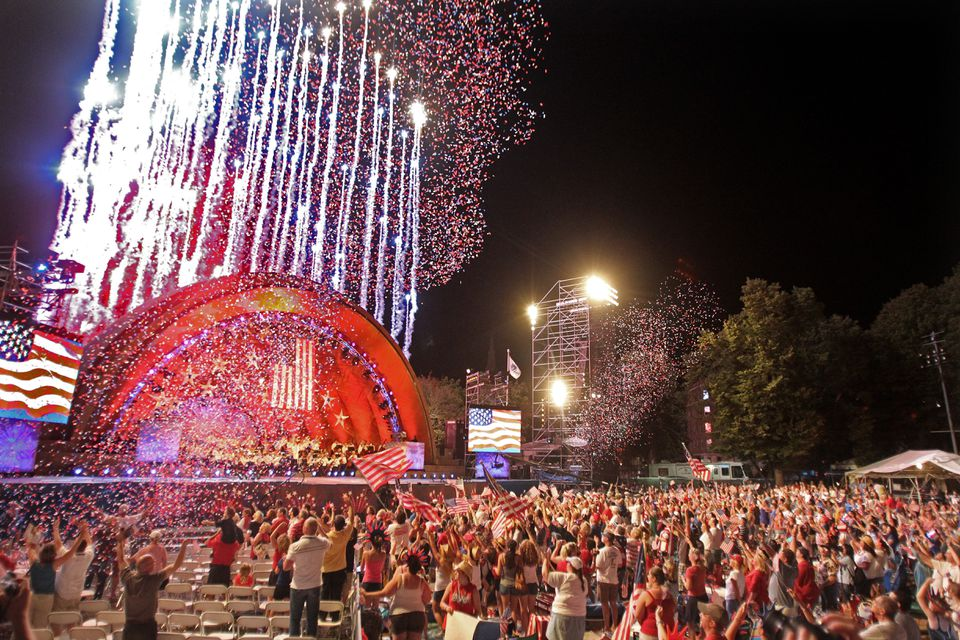 The Boston Pops Fireworks Spectacular would mark its 43rd year on the Esplanade this summer.