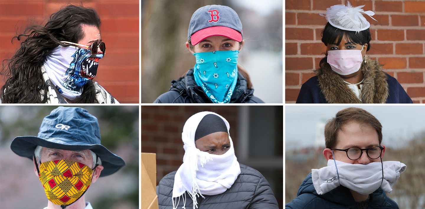 Does covering your face protect you, or not? What's behind the change in  coronavirus recommendations - The Boston Globe