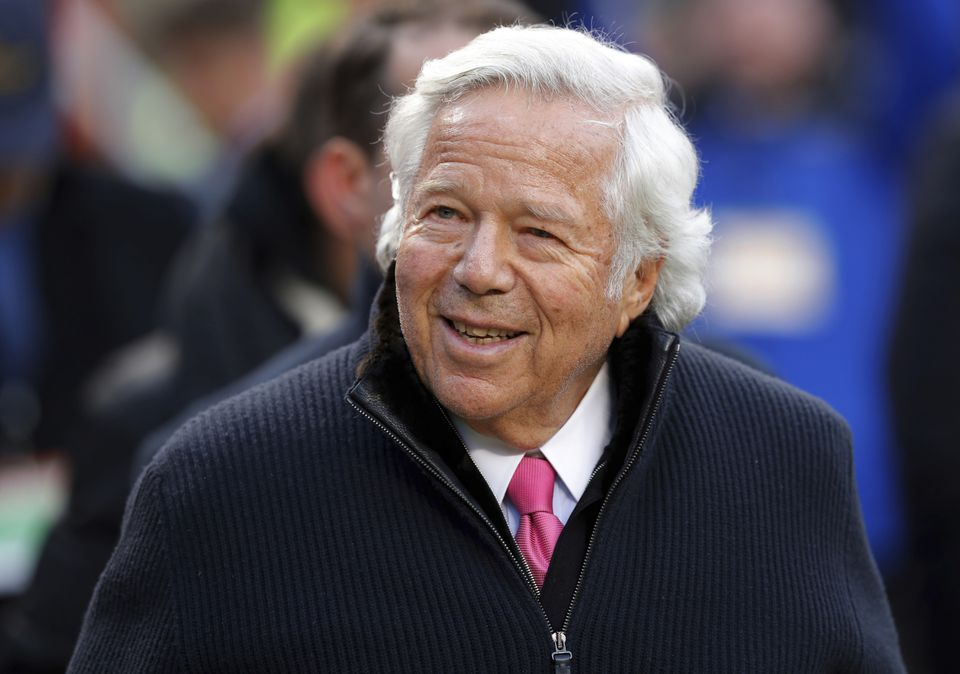 Patriots owner Robert Kraft was charged with soliciting prostitution at a Jupiter, Fla., day spa.