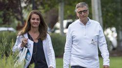 Melinda and Bill Gates in 2015.