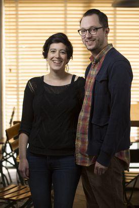 Rachel Miller Munzer and Alon Munzer, who will open Mamaleh's deli this summer.