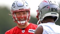 Patriots rookie quarterback got great coaching in college at Alabama.