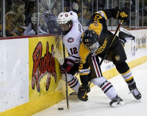 Bruins sign free agent college defenseman Jack Ahcan - The Boston Globe