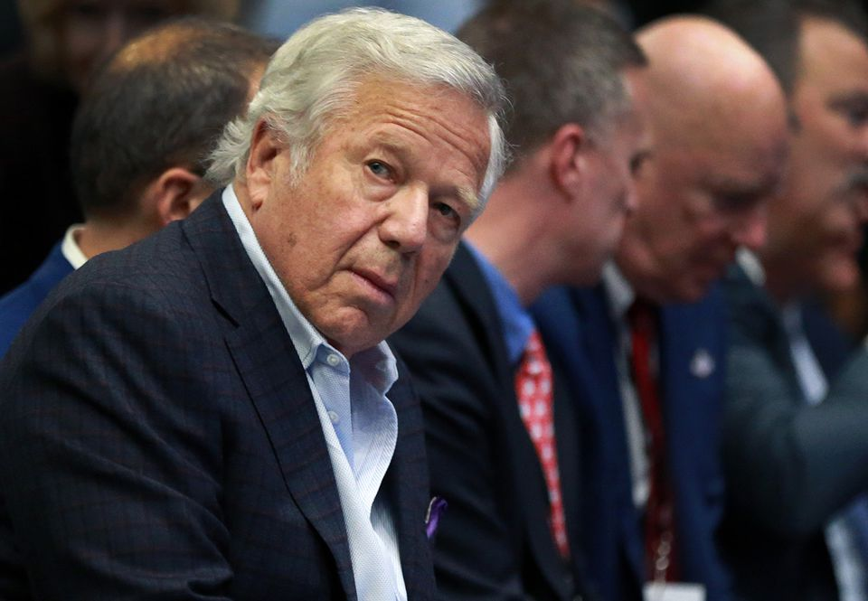 Patriots owner Robert Kraft is facing charges in Florida for solicitation of prostitution.
