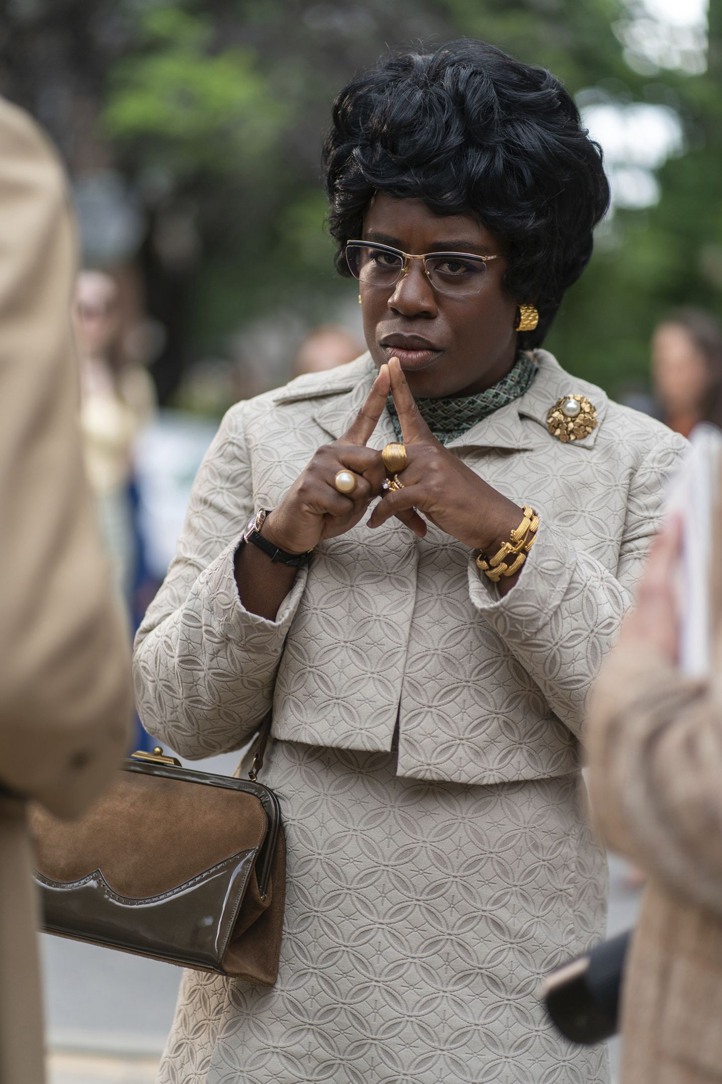 In playing Shirley Chisholm, Uzo Aduba looked to another woman who ...