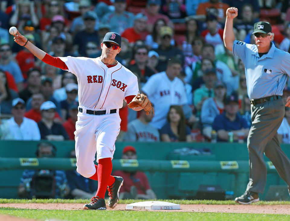 Red Sox third base prospect Garin Cecchini (above) isn't put off by the Pablo Sandoval signing; he'll try to learn from him.