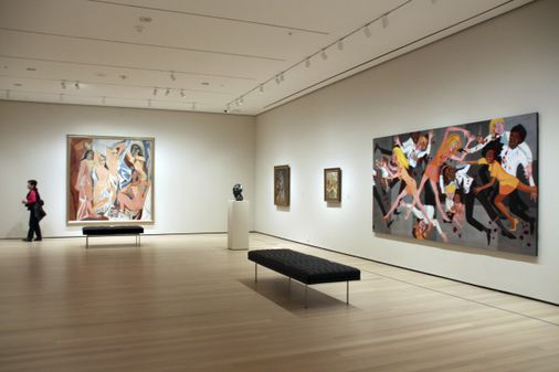 At the new MoMA, African Americans and women get better play... but hopefully there's more to come