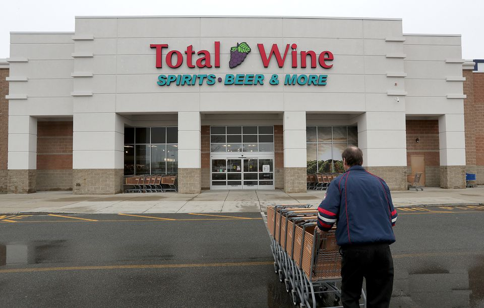 Total Wine & More has four outlets in Massachusetts, including one in Everett. Many of its outlets approach 50,000 square feet, or more than the average supermarket.