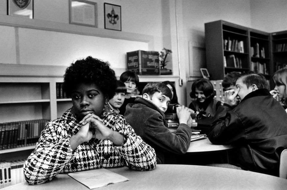 Linda Brown Smith's father was a plaintiff in Brown v. Board of Education of Topeka, which led to a ruling against school segregation.