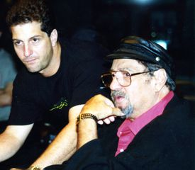 Director Denny Tedesco and his father, Tommy.