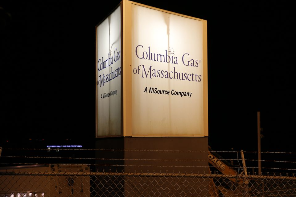 Columbia Gas says all but a few hundred customers have had service restored.