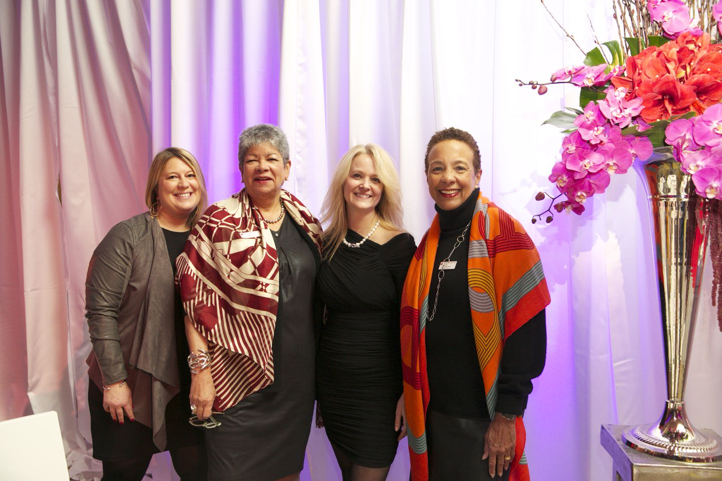 Fashion fans attend Dress for Success Boston runway show - The