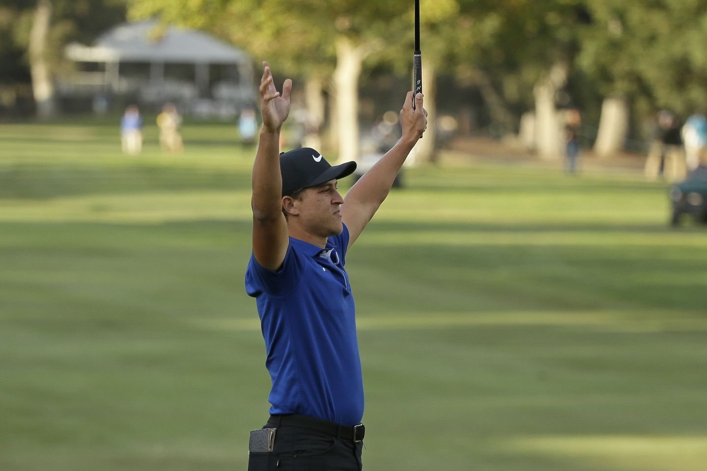Adam Champ cameron champ finishes off emotional win at safeway open