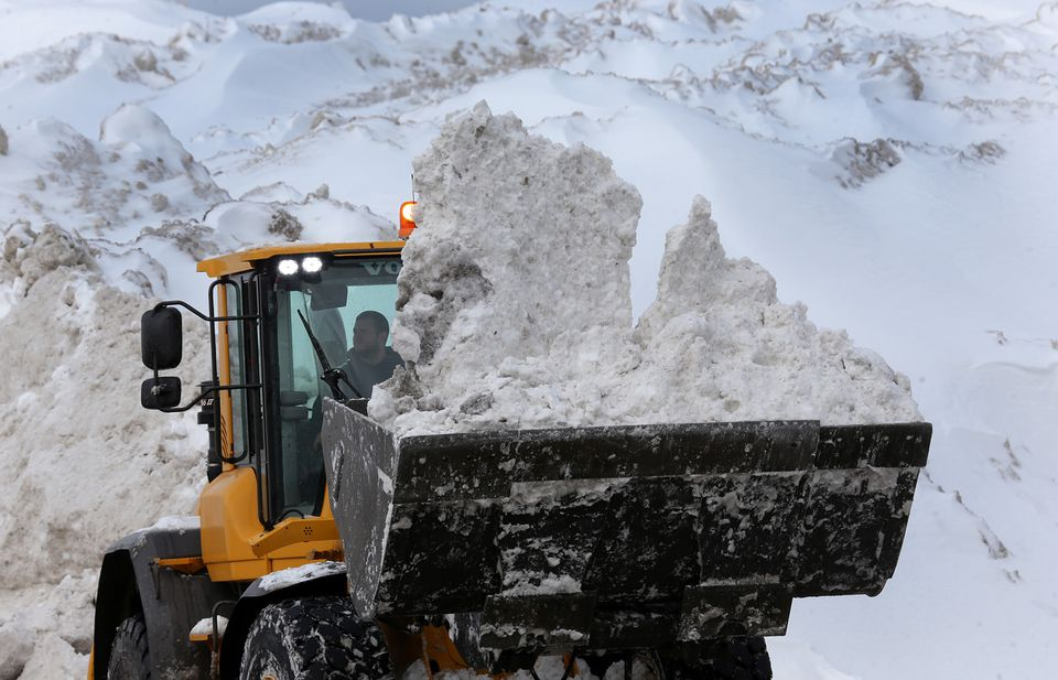 The winter would eventually break records in terms of snow — and create misery among residents.