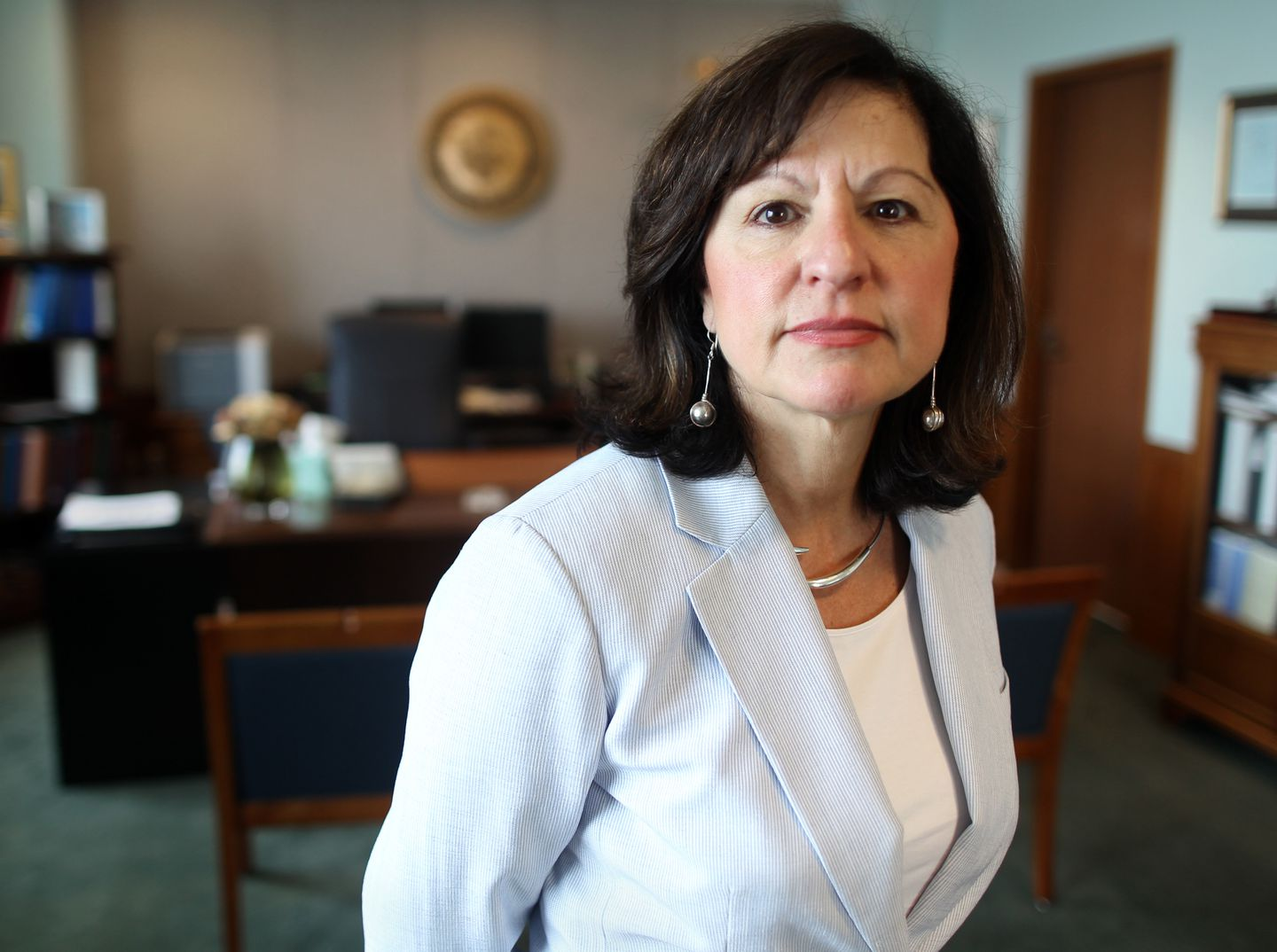 """Former Massachusetts US attorney Carmen Ortiz said, """"I think people need to start realizing that we are a country that is being led by someone who thinks he is completely above the law and is proud of it."""
