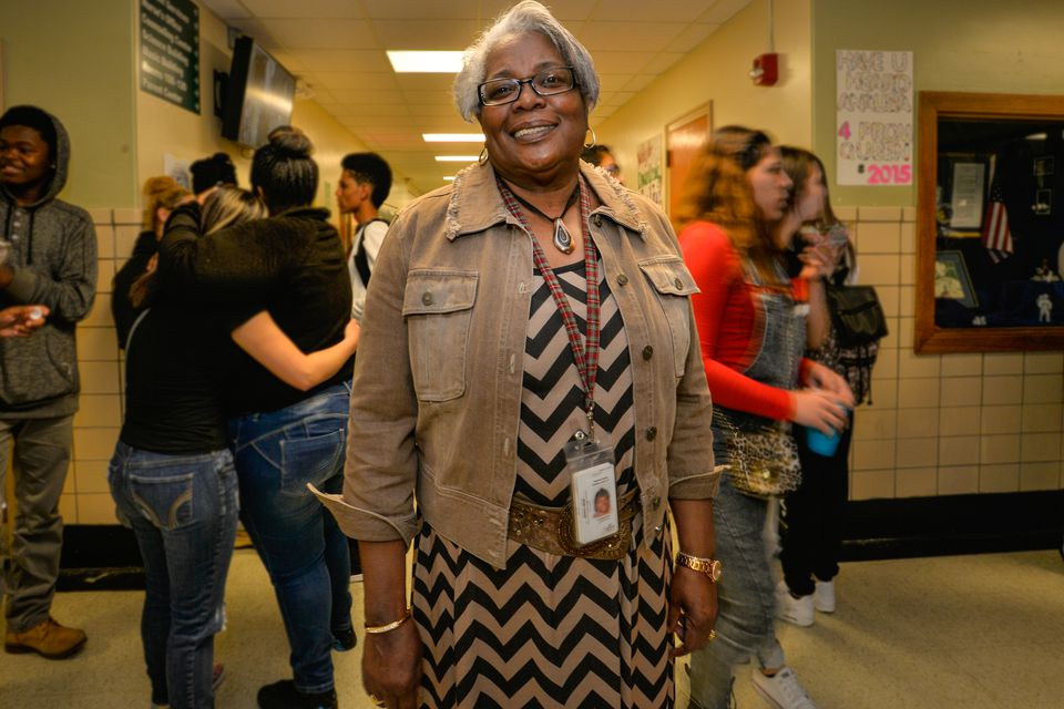 """Principal Beryl New of Highland Park High School says the school's funding is """"a blatant economic status issue."""""""