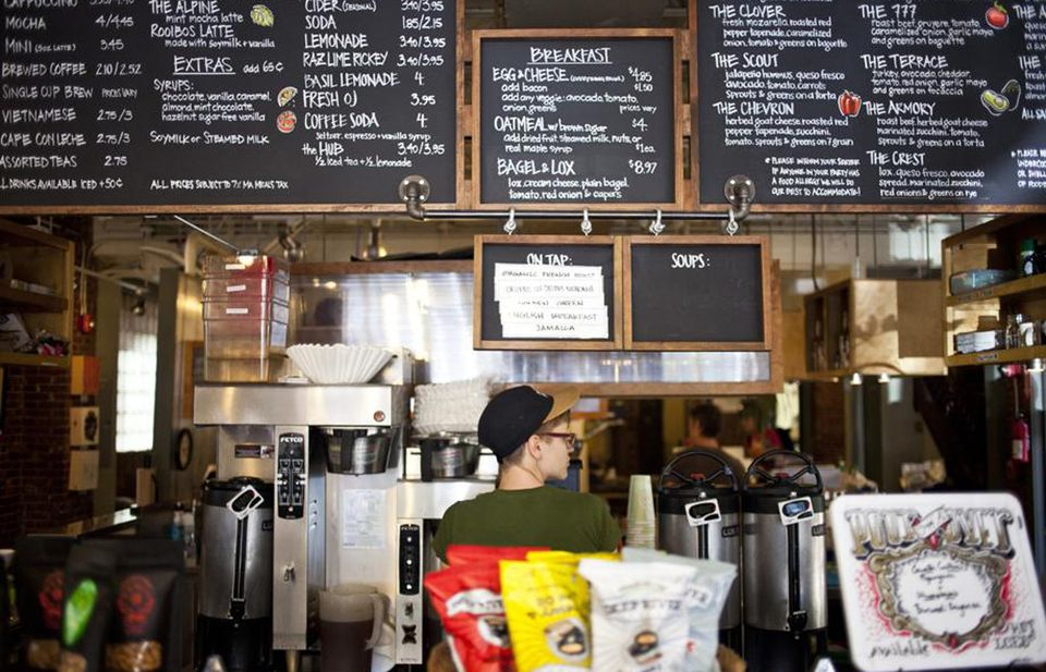 At Bloc 11, what's to eat with your exotic coffee could be locally sourced.