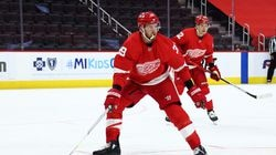 The Capitals acquired Anthony Mantha (above) by dealing wingers Jakub Vrana and Richard Panik, a 2021 first- and a 2022 second-round pick to Detroit.