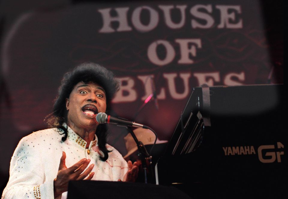 Little Richard at the House of Blues in West Hollywood, Calif., March 28, 1995.