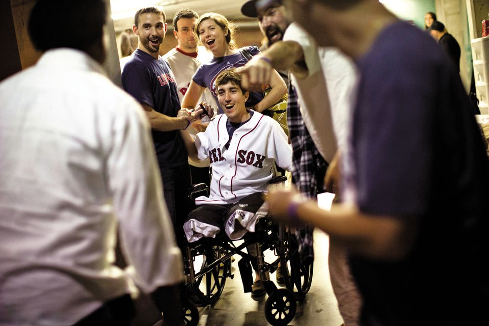 Jeff Bauman writes of the Marathon bombings, his brushes with sports stars, police officers, media personalities, and more.