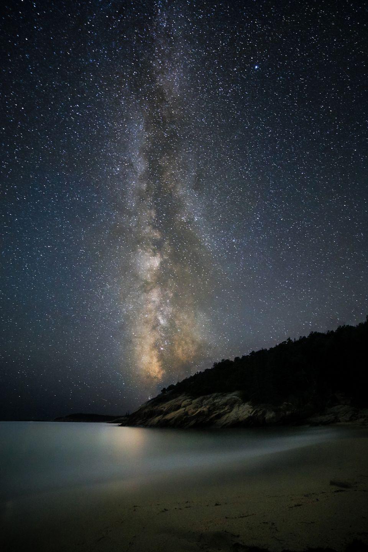 Night sky at Acadia.