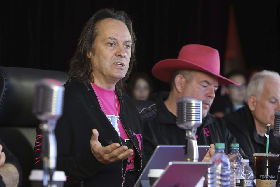 T-Mobile President and CEO John Legere in Feb. 2018. Legere will serve as chief executive officer of the new company.